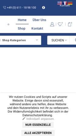 Vorschau der mobilen Webseite www.media-light.de, Media Light GmbH & Co.KG