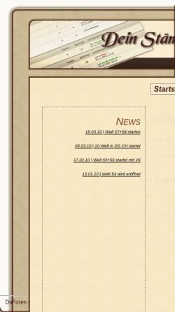 Vorschau der mobilen Webseite dsforen.de, DsForen.de