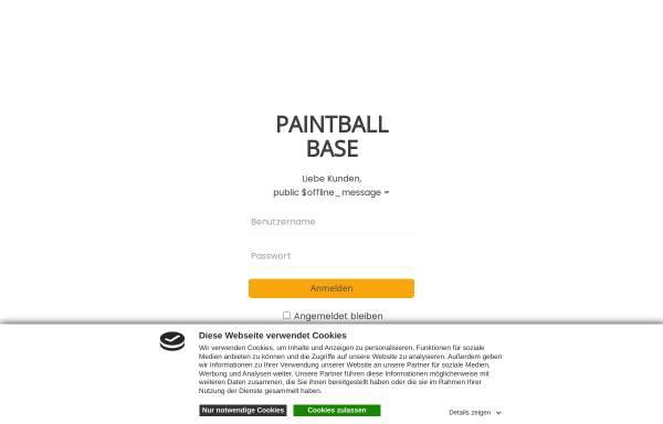 Vorschau von www.paintball-solms.de, Paintball Solms