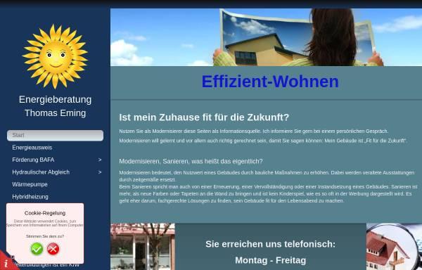 Vorschau von www.effizient-wohnen.de, Eming, Thomas