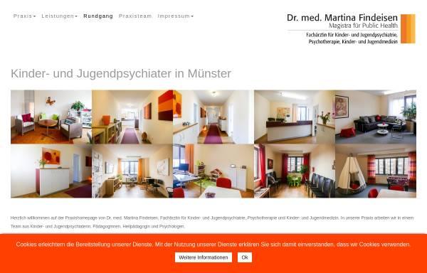 Vorschau von findeisen-ms.de, Findeisen, Dr. med. Martina