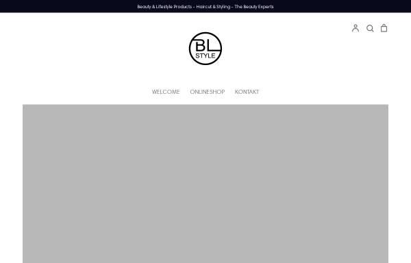Vorschau von bl-style.de, BL-Style.com - Beauty & Lifestyle Products - Claudia Bruckmann