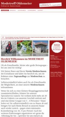 Vorschau der mobilen Webseite www.amh-style.de, AMH-Style Oldemeier GmbH