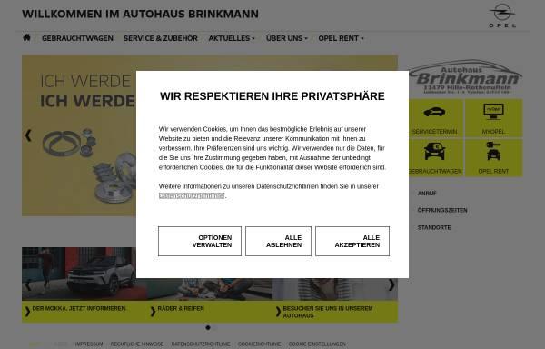 Vorschau von www.autohausbrinkmann.de, Autohaus Brinkmann GmbH & Co. KG