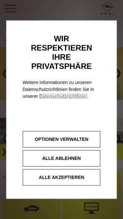 Vorschau der mobilen Webseite www.autohausbrinkmann.de, Autohaus Brinkmann GmbH & Co. KG