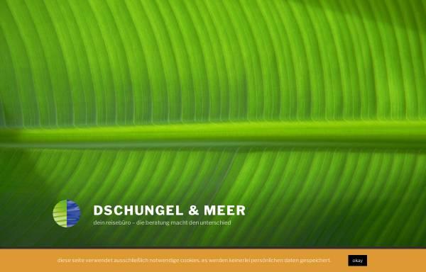 Vorschau von www.dschungel-meer.de, Dschungel & Meer, Inhaber Carsten Gerdsmeier