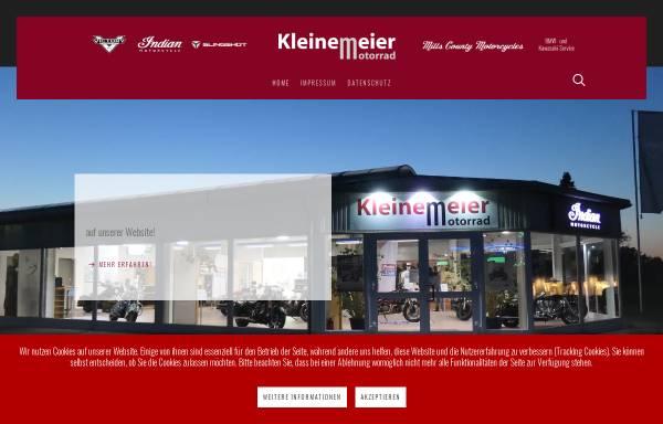Vorschau von www.kleinemeier.de, Kleinemeier Motorradsport