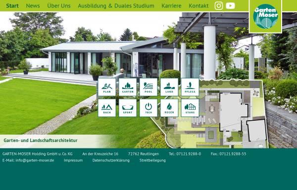 Vorschau von www.garten-moser.de, Garten Moser GmbH & Co. KG