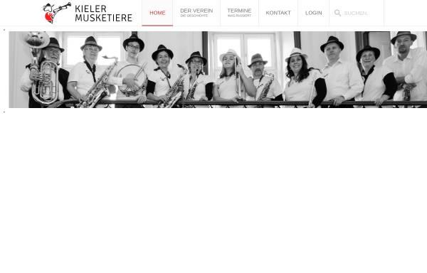 Vorschau von www.kieler-musketiere.com, Kieler Musketiere