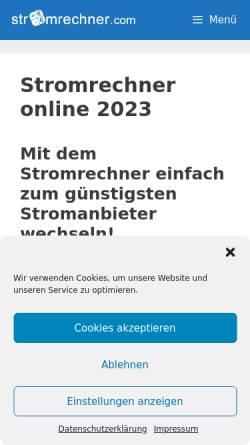 Vorschau der mobilen Webseite www.unserener.de, Unser Ener - Ministerium für Umwelt, Forsten und Verbraucherschutz