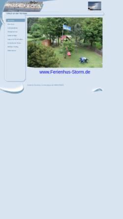 Vorschau der mobilen Webseite www.ferienhus-storm.de, Ferienhus Storm