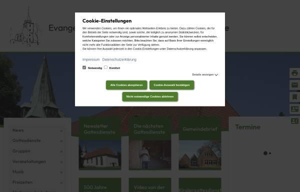 Vorschau von www.kirchengemeinde-hille.de, CVJM Hille Fußballtreff