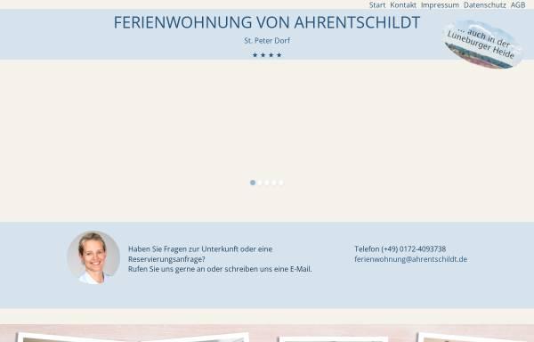 Vorschau von www.ahrentschildt.de, Ferienwohnung von Ahrentschildt