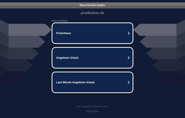 Vorschau von www.prielkieker.de, Haus Prielkieker