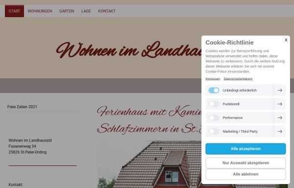 Wohnen im Landhausstil: Ferienwohnungen und -häuser, Unterkunft ...