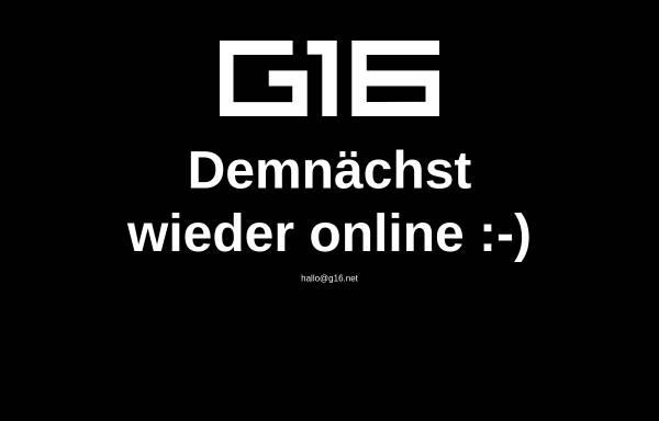 Vorschau von www.g16.net, G16 Media GmbH