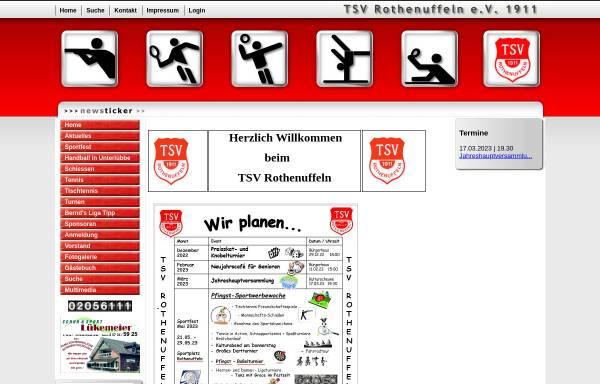 Vorschau von www.tsv-rothenuffeln.de, TSV Rothenuffeln von 1911 e.V.