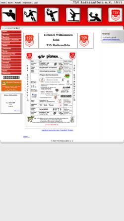 Vorschau der mobilen Webseite www.tsv-rothenuffeln.de, TSV Rothenuffeln von 1911 e.V.