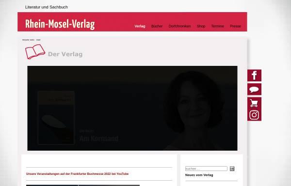 Vorschau von www.r-m-v.de, Rhein-Mosel-Verlag A. Houben e.K.