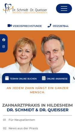 Vorschau der mobilen Webseite www.angstpatient-hildesheim.de, Angst vor dem Zahnarzt