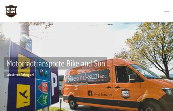 Vorschau von www.bike-and-sun.net, Bike-and-sun.de Armin Geier