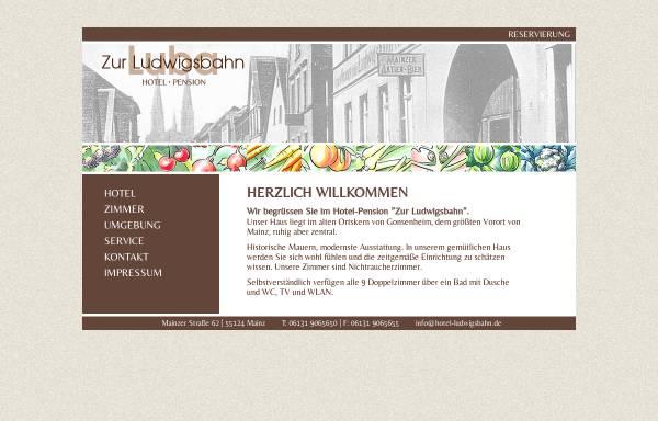 Vorschau von www.hotel-ludwigsbahn.de, Hotel Ludwigsbahn
