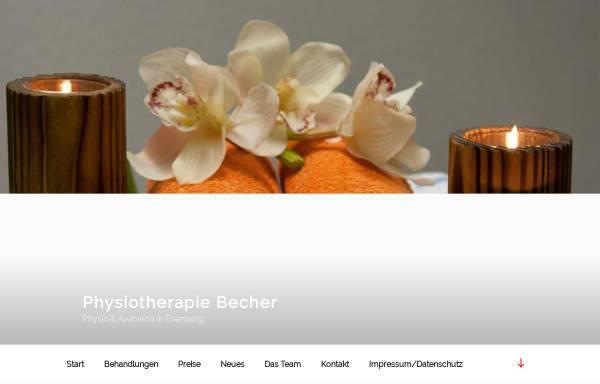 Vorschau von www.physio-becher.de, Physio-Becher