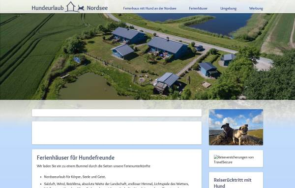 Vorschau von www.hundeurlaub-und-nordsee.de, Hundeurlaub und Nordsee