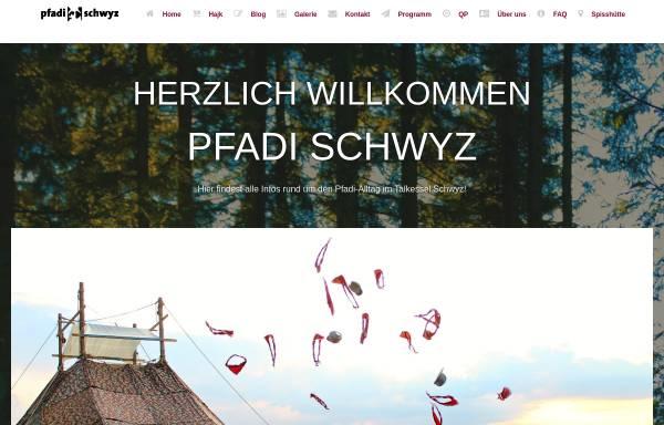 Vorschau von www.chumdochau.ch, Pfadi Schwyz