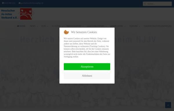 Vorschau von www.hjjv.de, Hessischer Ju-Jutsu Verband e.V.