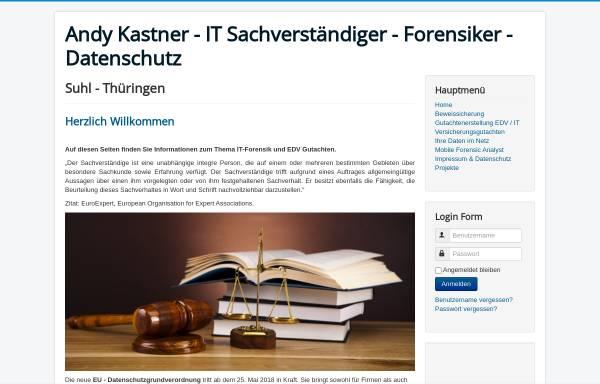 Vorschau von www.andykastner.de, Kastner, Andy