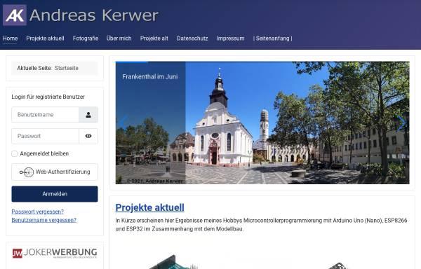 Vorschau von www.andreas-kerwer.de, Kerwer, Andreas