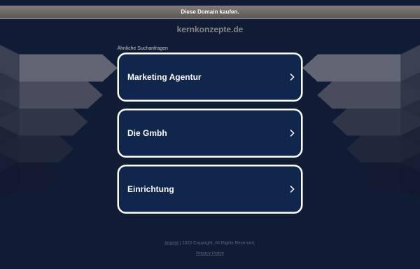 Vorschau von www.kernkonzepte.de, Dr. phil. Isa Grüber, Praxis für Kinesiologie, Coaching und Traumatherapie