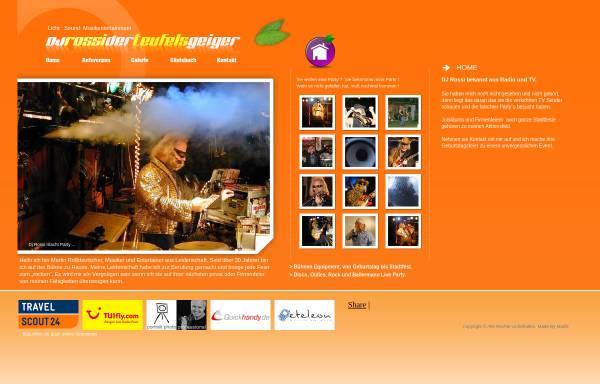 Vorschau von www.teufelsgeiger-online.de, DJ Rossi