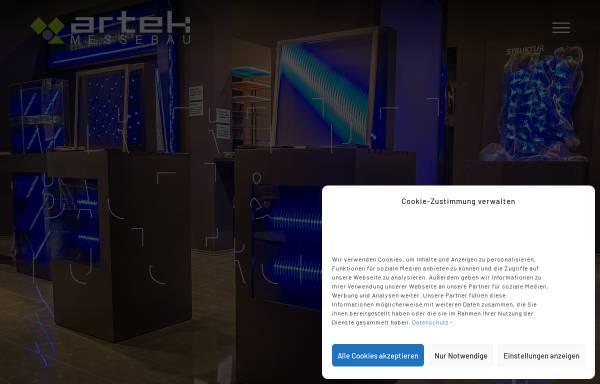 Vorschau von www.artek-ka.de, Artek Messebau