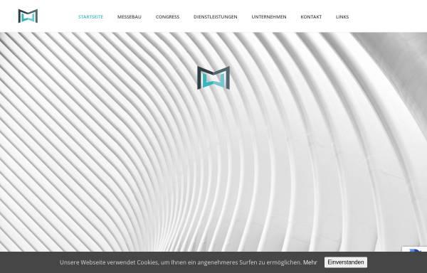 Vorschau von www.muw-messebau.de, M&W Messe- und Werbeservice GmbH