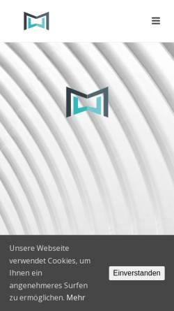 Vorschau der mobilen Webseite www.muw-messebau.de, M&W Messe- und Werbeservice GmbH
