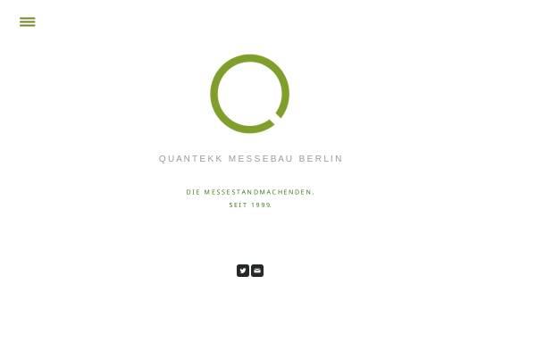 Vorschau von www.quantekk.de, Quantekk GmbH