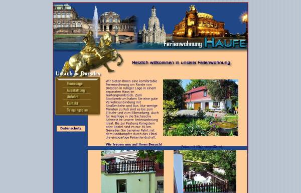 Vorschau von www.zum-elberadweg.de, Ferienwohnung Haufe