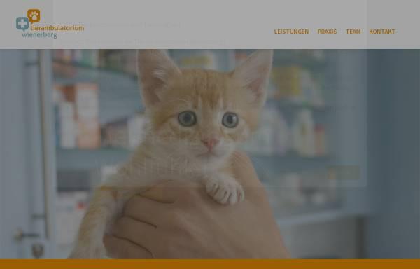 Vorschau von www.tierambulatorium-wienerberg.at, Tierambulatorium Wienerberg