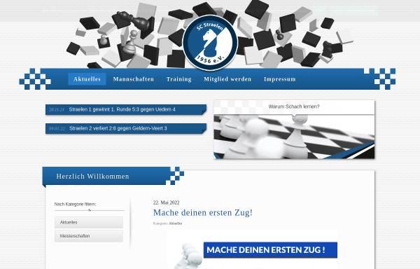 Vorschau von www.schachclub-straelen.de, Schachclub Straelen 1956 e.V.