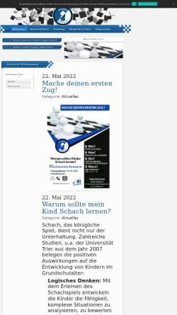 Vorschau der mobilen Webseite www.schachclub-straelen.de, Schachclub Straelen 1956 e.V.