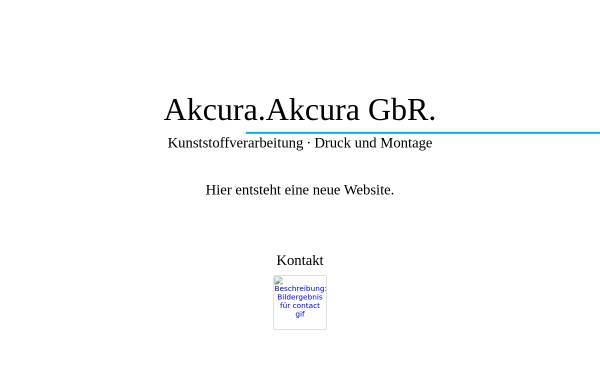 Vorschau von www.akcura.de, Akcura GbR