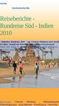 Vorschau der mobilen Webseite www.mauersberger-haarhausen.de, Rundreise durch Südindien [Susanne & Andreas Mauersberger]