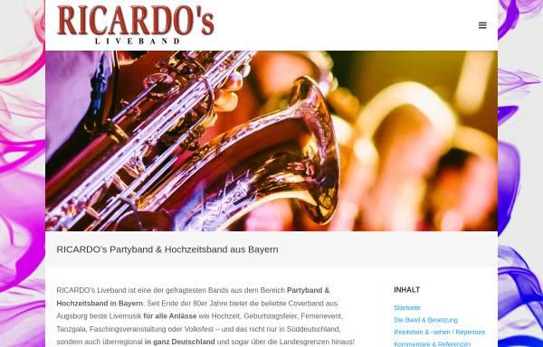 Vorschau von www.ricardos-band.de, Ricardo's Band