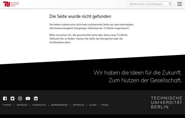 Vorschau von www.tu-berlin.de, Institut für Sprache und Kommunikation der TU Berlin