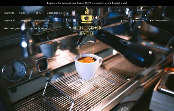 Vorschau von www.mein-eigener-kaffee.de, Mein eigener Kaffee