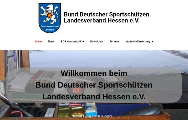 Vorschau von www.bdshessen.de, Bund Deutscher Sportschützen - Landesverband Hessen