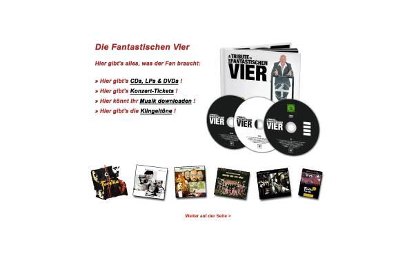 Vorschau von www.diefantastischen4.de, Die Fantastischen Vier - Fanpage