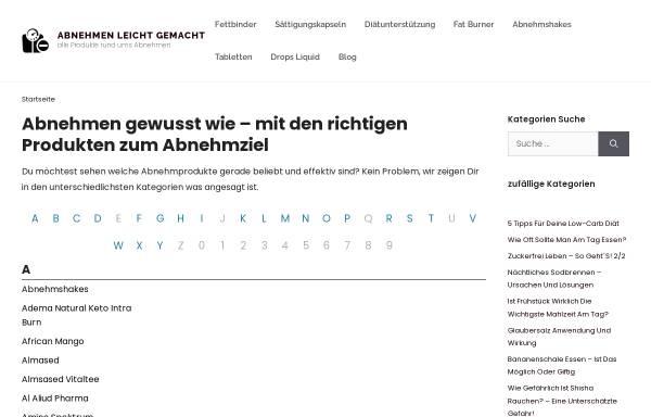 Vorschau von abnehmpillentest24.de, Susanne Reeiki